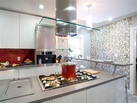 Splendid Kitchen Island Floating Breakfast Bar Design With