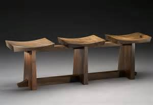 Home Design Furniture - home furniture design of grafted contemporary 3 seat claro walnut bench by brian hubel united