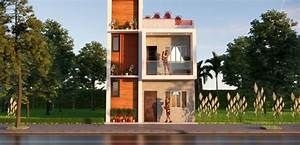 20x23, Feet, Small, House, Design, With, Front, Elevation, Full