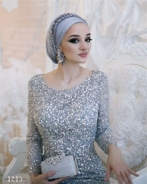 pinterest atadarkurdish mariee wedding hijab muslimah