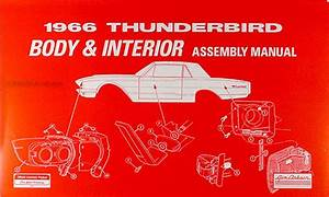 1966 Ford Thunderbird Repair Shop Manual Original
