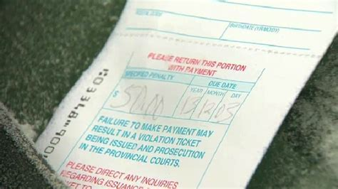 Hundreds of parking tickets issued during seasonal parking