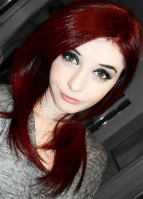 25 Best Ideas About Blood Red Hair On Pinterest Anime