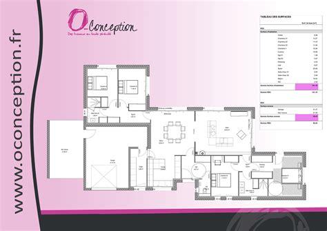 plan maison 4 chambres plain pied plan dune maison plain pied 4 chambres maison moderne
