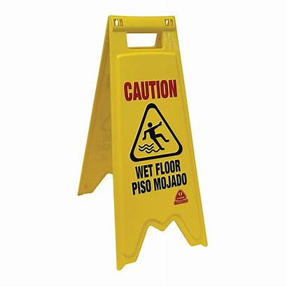 Floor Sign Wet Safety Caution Equipment Cleaning