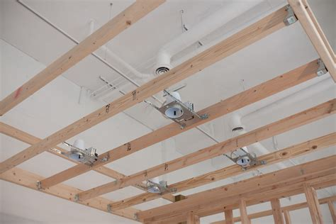 Ceiling Joist Spacing For Drywall by Viewing Room This Will Make Sense When It S Done A