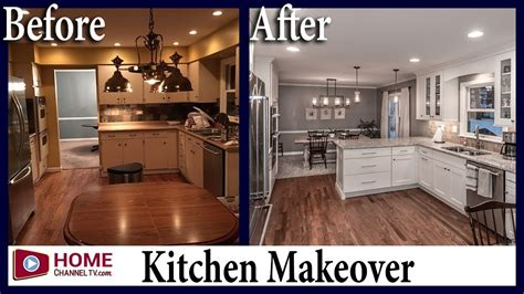 before and after pictures of kitchen cabinets painted kitchen remodel before after white kitchen design 9889