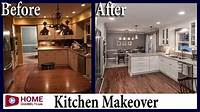 kitchen remodel before and after Kitchen Remodel - Before & After   White Kitchen Design - YouTube