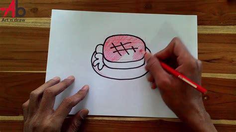 How To Draw Steak Step By Step