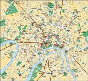 Cartes De Moscou Cartes Typographiques Dtailles De