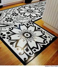 painted vinyl floor mat tutorial memes juxtapost