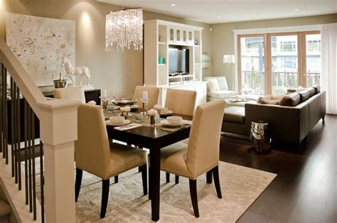Living Room And Dining Room Open by Open Dining Room Contemporary Dining Room Twenty One Two