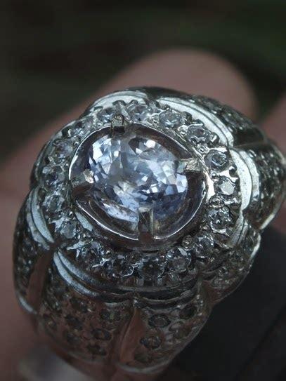 soldout colorless ceylon sapphire toko permata batu mulia ruby safir zamrud
