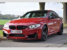 F80 BMW M3 in Imola Red II with M Performance Parts
