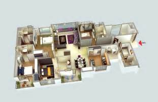 one story house plans with 4 bedrooms 50 four 4 bedroom apartment house plans architecture