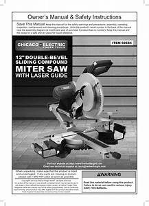 Chicago Electric Power Tools 12 U0026quot  Double