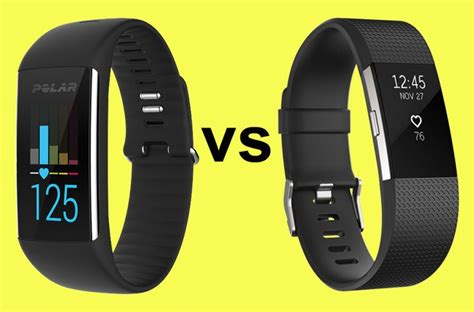 polar a360 vs fitbit charge 2 a clear winner deals reviews