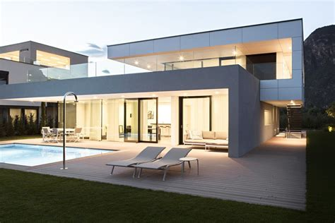 delightful architectural house designs sustainable building in italy housing two separate