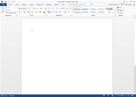 Microsoft Word 2016 by Screenshots Microsoft Office 2016 Preview Techrepublic