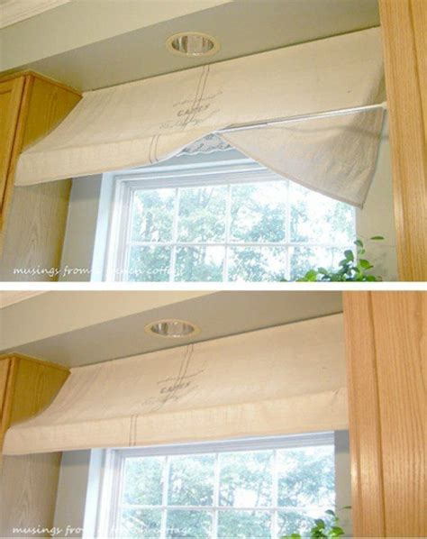 great ways   tension rods   home home kitchen window treatments house