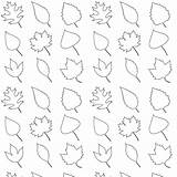 Coloring Leaves Printable Pattern Leaf Fall Pages Patterns Paper Geschenkpapier Traceable Kindergarten Cut Scrapbooking Ausdruckbares Freebie Tree Line Leave Digital sketch template