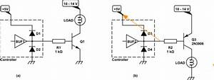 arduino pnp high side transistor switching with With the schematic shows the microcontroller that was used along with the