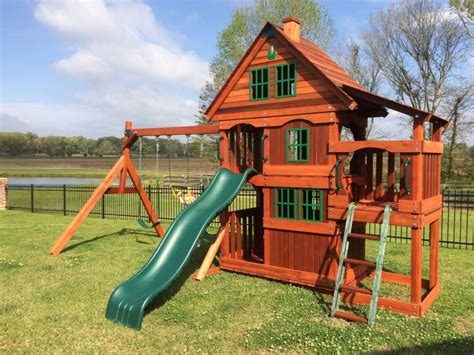 Texas Wooden Swing Sets |manufactured In Texas With Texan