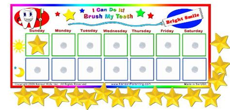 I Can Do It Brush My Teeth Chart