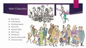 Charlie and the chocolate factory digital story example