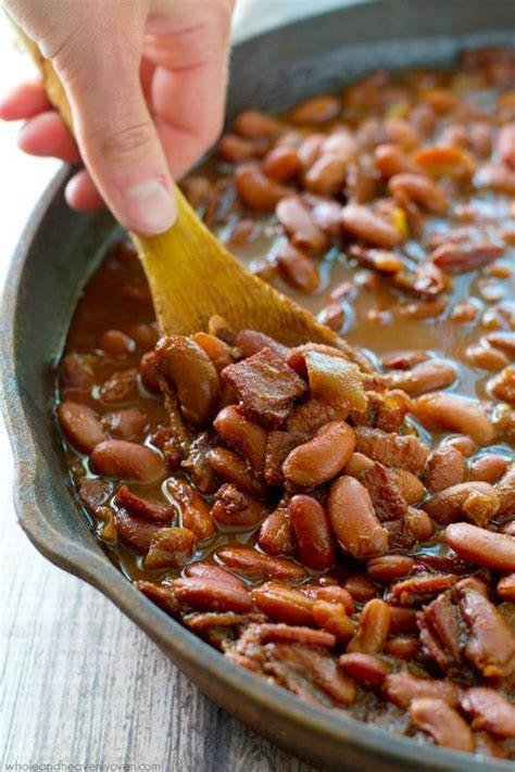 ultimate crockpot bbq baked beans recipe bacon sweet and beans