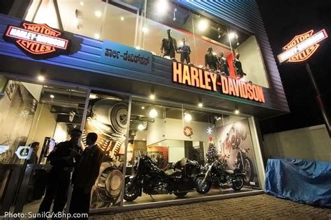 harley davidson bangalore showroom launch  hog ride