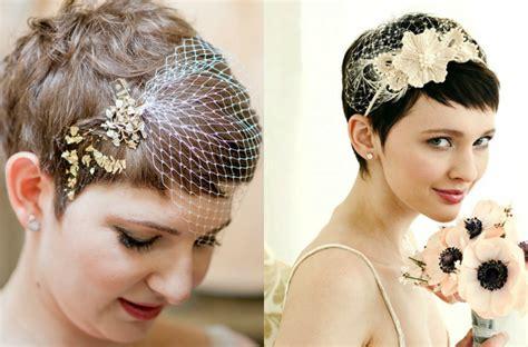 Wedding Hair Pieces For Pixie Cut