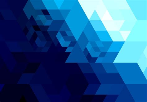 Abstract Geometric Shapes In by Abstract Bright Blue Geometric Shape Free