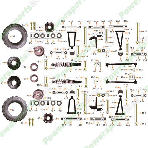 2007 Coolster Atv Wiring Diagram by Coolster Parts