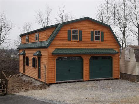 gambrel 2 story garage garage garage loft loft plan