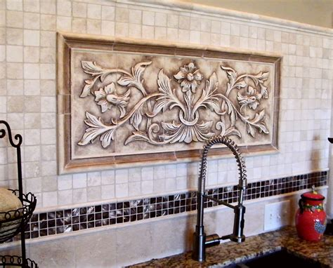 large hand pressed decorative tiles  andersen ceramics