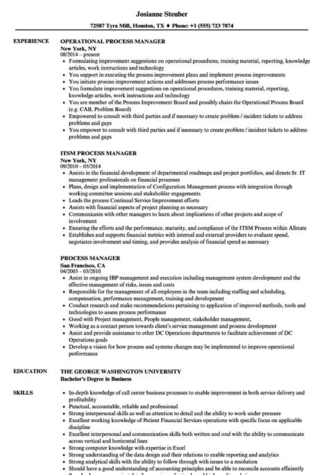 Process Manager Resume Samples  Velvet Jobs. How To Email Cover Letter And Resume Attachments. Make Online Resume. Words To Put On Your Resume. Where To Post Resume. Resume To You. Help Make A Resume. How To Write A Resume For High School Students. Resume Skill Examples