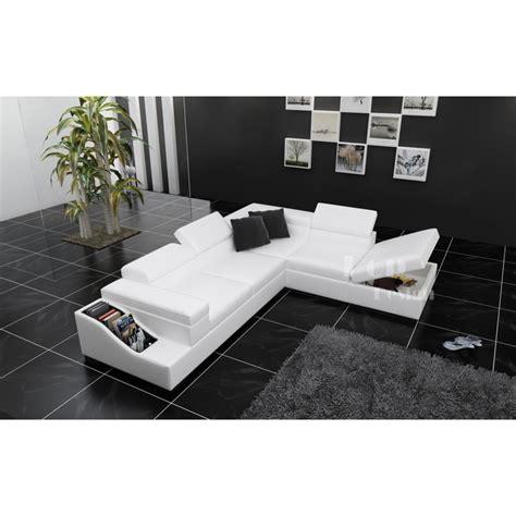 grand canape d angle grand canapé d 39 angle en cuir jazzy