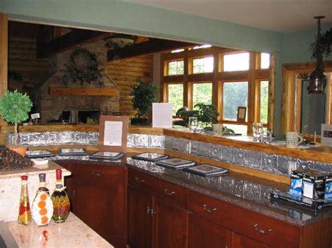 aluminum kitchen backsplash photos of kitchens with metal backsplashes aluminum copper 1211