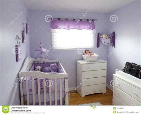 Purple Babies Room Stock Image Image Of Sleeping, Plum