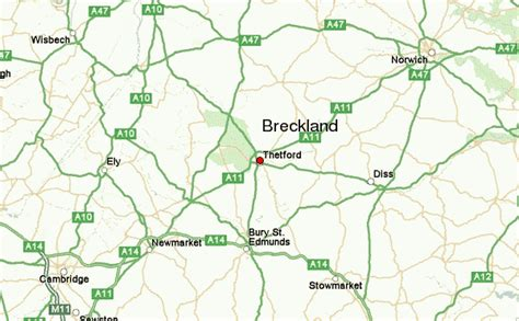 Thetford Location Guide