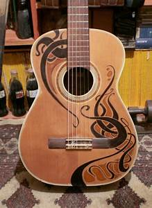 Soundboard Design Guitar Ukulele Paint Design Ideas