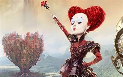 Queen Alice Glass Looking Through Wallpapers Bonham