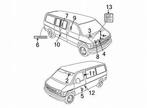 Chevrolet Express 3500 Label  Info