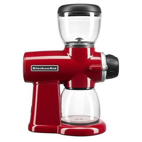 Your choice is the burr coffee grinder but you're not sure which is the best burr coffee grinder for you? KitchenAid KCG0702ER Burr Coffee Grinder, Empire Red Reviews 2020