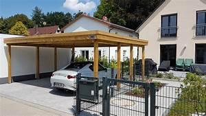 Carport Aus Holz : doppel carport aus holz brandl ~ Orissabook.com Haus und Dekorationen