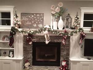 Home Decorating Gorgeous Mantel Christmas Decorations