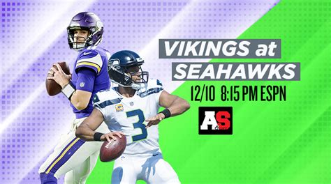 monday night football minnesota vikings  seattle
