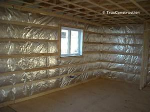 Laine De Verre Sans Pare Vapeur : isolation des murs de charpente d 39 une maison ~ Premium-room.com Idées de Décoration
