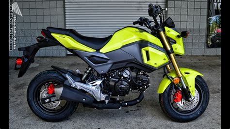 2017 Honda Grom 125 Walk-around Video